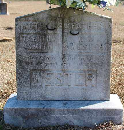 SMITH WESTER, TABITHA - Cherokee County, Alabama   TABITHA SMITH WESTER - Alabama Gravestone Photos
