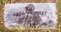 CAULEY (VETERAN WWII), CARL V. - Choctaw County, Alabama | CARL V. CAULEY (VETERAN WWII) - Alabama Gravestone Photos