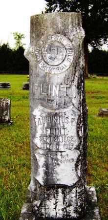 FLINT, AUGUSTUS P. - Choctaw County, Alabama | AUGUSTUS P. FLINT - Alabama Gravestone Photos