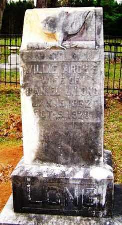 LONG, WILLIE ARCHIE - Choctaw County, Alabama | WILLIE ARCHIE LONG - Alabama Gravestone Photos