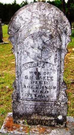 MCKEE, GRACE A. - Choctaw County, Alabama | GRACE A. MCKEE - Alabama Gravestone Photos