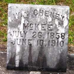 MCKEE, WILLIAM CHENEY - Choctaw County, Alabama | WILLIAM CHENEY MCKEE - Alabama Gravestone Photos