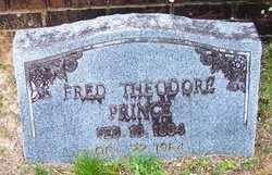 PRINCE, FREDRICK THEODORE - Choctaw County, Alabama | FREDRICK THEODORE PRINCE - Alabama Gravestone Photos