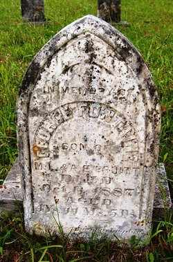 PRUITT, GEORGE FONTAINE - Choctaw County, Alabama | GEORGE FONTAINE PRUITT - Alabama Gravestone Photos