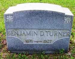 TURNER, BENJAMIN D. - Choctaw County, Alabama | BENJAMIN D. TURNER - Alabama Gravestone Photos