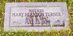 TURNER, MARY - Choctaw County, Alabama | MARY TURNER - Alabama Gravestone Photos