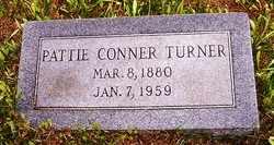 TURNER, PATTIE - Choctaw County, Alabama | PATTIE TURNER - Alabama Gravestone Photos