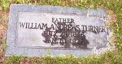 TURNER, WILLIAM ANDREWS - Choctaw County, Alabama | WILLIAM ANDREWS TURNER - Alabama Gravestone Photos
