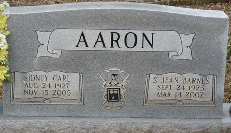 BARNES AARON, STELLA JEAN - Colbert County, Alabama | STELLA JEAN BARNES AARON - Alabama Gravestone Photos