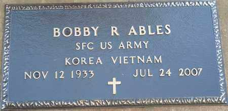 ABLES (VETERAN KOR-VIET), BOBBY R (NEW) - Colbert County, Alabama | BOBBY R (NEW) ABLES (VETERAN KOR-VIET) - Alabama Gravestone Photos