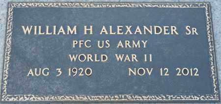 ALEXANDER SR. (VETERAN WWII), WILLIAM HASTON (NEW) - Colbert County, Alabama   WILLIAM HASTON (NEW) ALEXANDER SR. (VETERAN WWII) - Alabama Gravestone Photos