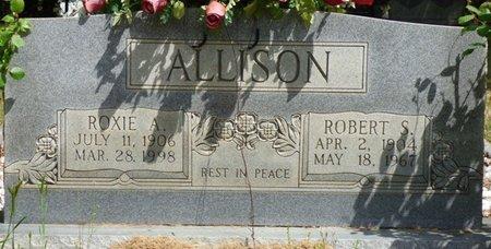 ALLISON, ROXIE A - Colbert County, Alabama | ROXIE A ALLISON - Alabama Gravestone Photos