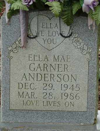 ANDERSON, ELLA MAE - Colbert County, Alabama | ELLA MAE ANDERSON - Alabama Gravestone Photos