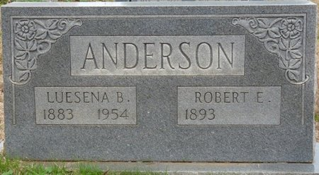 ANDERSON, ROBERT EDGAR - Colbert County, Alabama | ROBERT EDGAR ANDERSON - Alabama Gravestone Photos