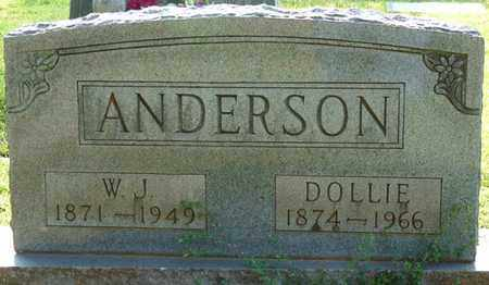 ANDERSON, AMANDA DOLLIE - Colbert County, Alabama | AMANDA DOLLIE ANDERSON - Alabama Gravestone Photos