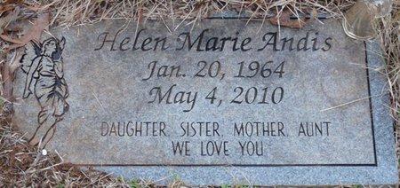 ANDIS, HELEN MARIE - Colbert County, Alabama | HELEN MARIE ANDIS - Alabama Gravestone Photos
