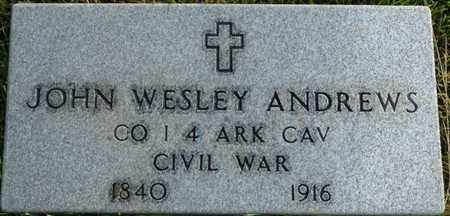 ANDREWS (VETERAN CW), JOHN WESLEY (NEW) - Colbert County, Alabama | JOHN WESLEY (NEW) ANDREWS (VETERAN CW) - Alabama Gravestone Photos