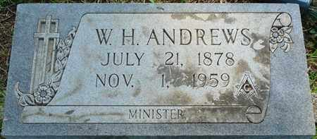 ANDREWS, W.H. - Colbert County, Alabama | W.H. ANDREWS - Alabama Gravestone Photos