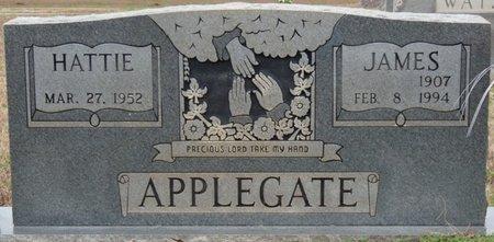 APPLEGATE, HATTIE - Colbert County, Alabama | HATTIE APPLEGATE - Alabama Gravestone Photos
