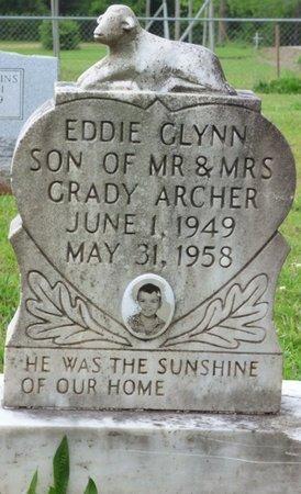 ARCHER, EDDIE GLYNN - Colbert County, Alabama | EDDIE GLYNN ARCHER - Alabama Gravestone Photos