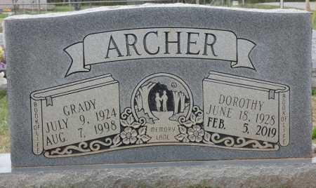 ARCHER, GRADY - Colbert County, Alabama | GRADY ARCHER - Alabama Gravestone Photos