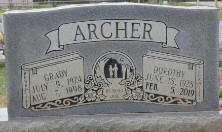 ARCHER, GRADY ALMON - Colbert County, Alabama | GRADY ALMON ARCHER - Alabama Gravestone Photos
