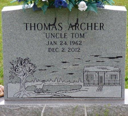 ARCHER, THOMAS - Colbert County, Alabama | THOMAS ARCHER - Alabama Gravestone Photos