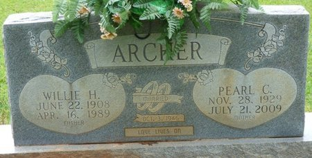 ARCHER, WILLIE H - Colbert County, Alabama | WILLIE H ARCHER - Alabama Gravestone Photos