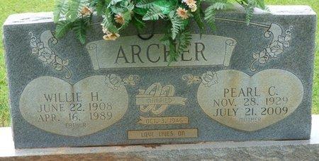 ARCHER, PEARL C - Colbert County, Alabama | PEARL C ARCHER - Alabama Gravestone Photos