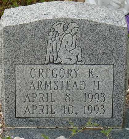 ARMSTEAD II, GREGORY K - Colbert County, Alabama | GREGORY K ARMSTEAD II - Alabama Gravestone Photos