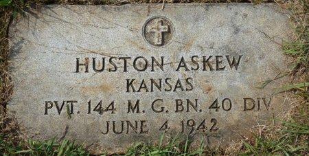 ASKEW (VETERAN), HOUSTON (NEW) - Colbert County, Alabama | HOUSTON (NEW) ASKEW (VETERAN) - Alabama Gravestone Photos