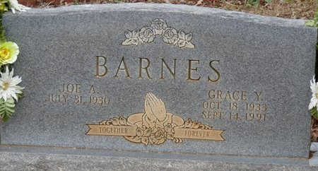 BARNES, GRACE Y - Colbert County, Alabama   GRACE Y BARNES - Alabama Gravestone Photos