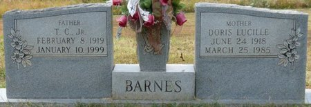 INMAN BARNES, DORIS LUCILLE - Colbert County, Alabama | DORIS LUCILLE INMAN BARNES - Alabama Gravestone Photos
