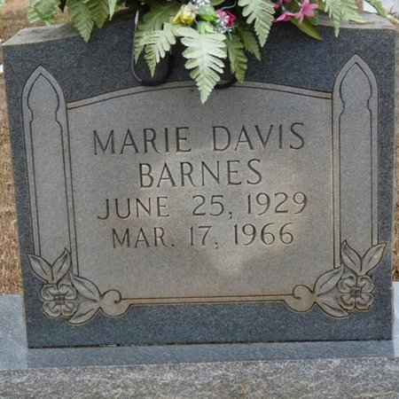BARNES, MARIE - Colbert County, Alabama | MARIE BARNES - Alabama Gravestone Photos