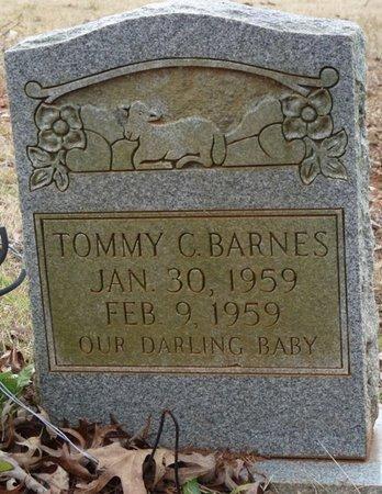 BARNES, TOMMY C - Colbert County, Alabama   TOMMY C BARNES - Alabama Gravestone Photos