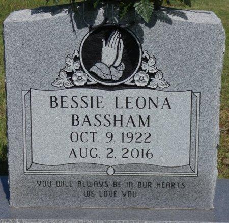 BASSHAM, BESSIE LEONA - Colbert County, Alabama | BESSIE LEONA BASSHAM - Alabama Gravestone Photos