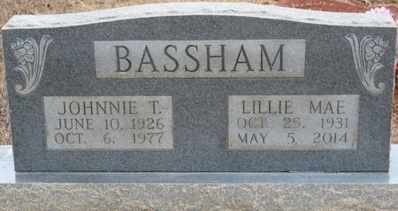 BASSHAM, JOHNNIE T - Colbert County, Alabama | JOHNNIE T BASSHAM - Alabama Gravestone Photos