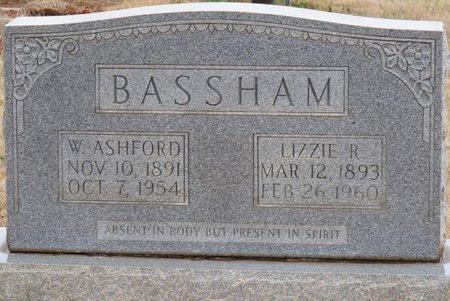 "ROBERTSON BASSHAM, MATTIE ELIZABETH ""LIZZE"" - Colbert County, Alabama | MATTIE ELIZABETH ""LIZZE"" ROBERTSON BASSHAM - Alabama Gravestone Photos"