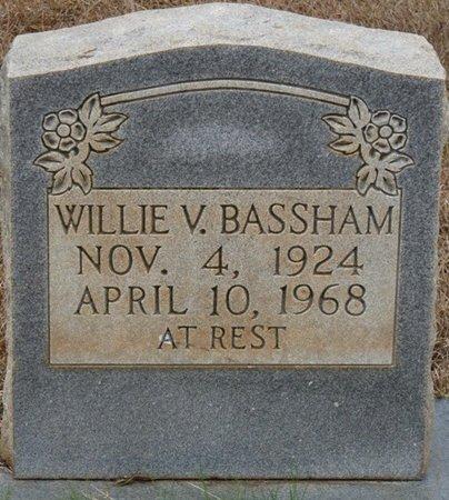 BASSHAM, WILLIE V - Colbert County, Alabama | WILLIE V BASSHAM - Alabama Gravestone Photos