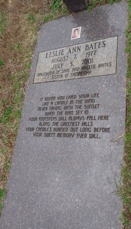 BATES, LESLIE ANN - Colbert County, Alabama   LESLIE ANN BATES - Alabama Gravestone Photos