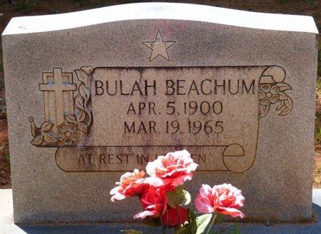 BEACHUM, BULAH - Colbert County, Alabama | BULAH BEACHUM - Alabama Gravestone Photos