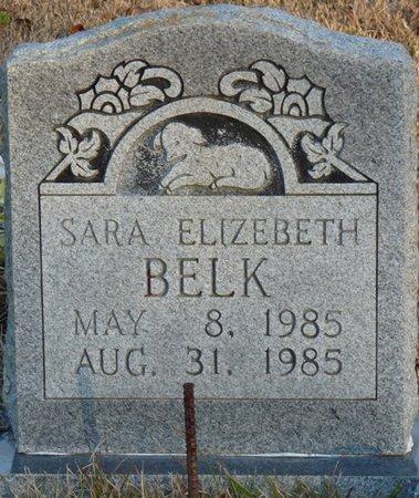 BELK, SARA ELIZABETH - Colbert County, Alabama | SARA ELIZABETH BELK - Alabama Gravestone Photos