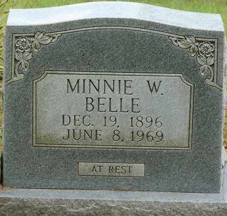 BELLE, MINNIE W - Colbert County, Alabama | MINNIE W BELLE - Alabama Gravestone Photos