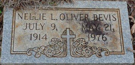 OLIVER BEVIS, NELLIE L - Colbert County, Alabama | NELLIE L OLIVER BEVIS - Alabama Gravestone Photos