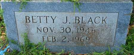 BLACK, BETTY J - Colbert County, Alabama | BETTY J BLACK - Alabama Gravestone Photos