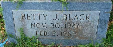 BLACK, BETTY J - Colbert County, Alabama | BETTY J BLACK - Alabama Gravestone Photos