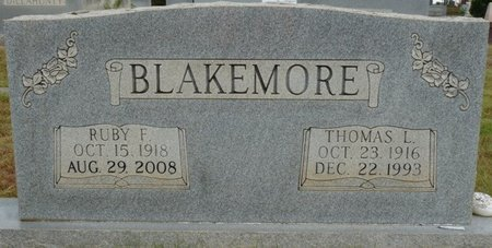 BLAKEMORE, THOMAS L - Colbert County, Alabama | THOMAS L BLAKEMORE - Alabama Gravestone Photos