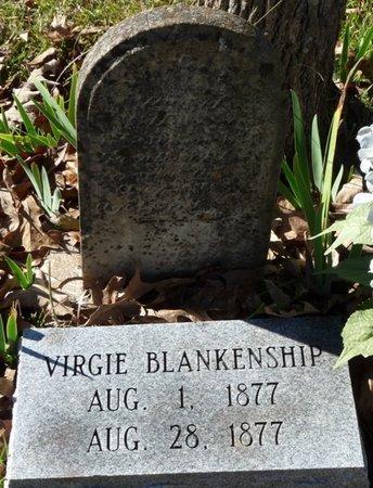 BLANKENSHIP, VIRGIE - Colbert County, Alabama | VIRGIE BLANKENSHIP - Alabama Gravestone Photos