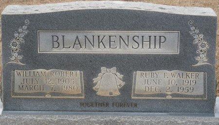 BLANKENSHIP, WILLIAM ROBERT - Colbert County, Alabama | WILLIAM ROBERT BLANKENSHIP - Alabama Gravestone Photos