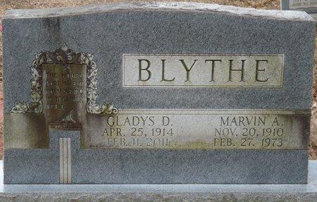 BLYTHE, MARVIN A - Colbert County, Alabama | MARVIN A BLYTHE - Alabama Gravestone Photos